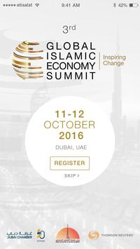 Global Islamic Economy Summit poster