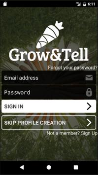 Grow&Tell poster