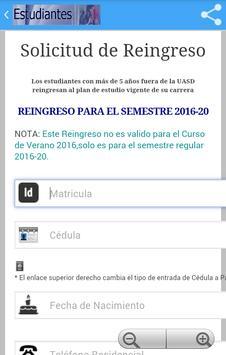 UASD Estudiantes apk screenshot