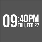 Bebas Clock (UCCW) icon