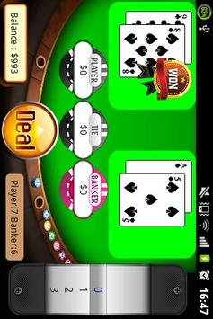 Play Baccarat screenshot 2