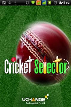 Cricket Selector poster