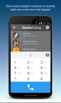 OnSite Dialog apk screenshot