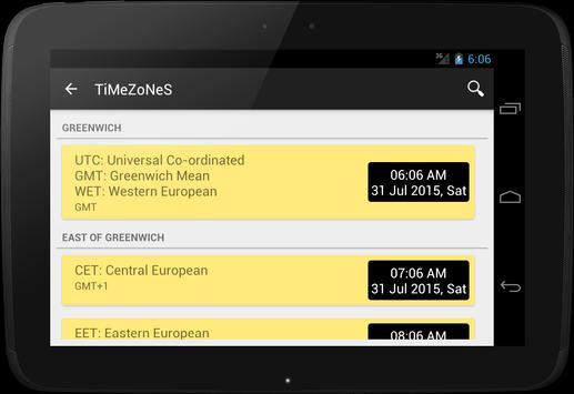 TiMeZoNeS apk screenshot