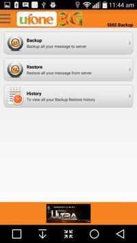 U Backup apk screenshot