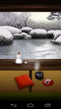 ZEN Garden -Winter- LW poster