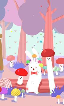 Rabbit in WonderForest[FLver.] poster