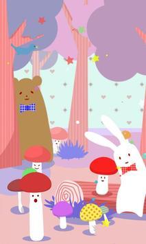 Rabbit in WonderForest[FLver.] apk screenshot