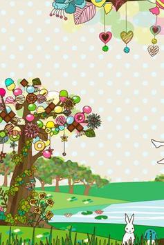 sweet tree LWallpaper[FL ver.] apk screenshot