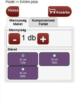 Újpest Pizzéria apk screenshot