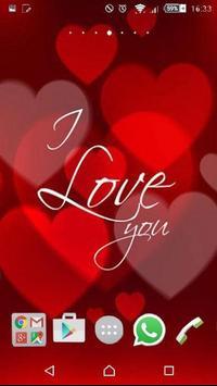 Valentines Day love wallpaper screenshot 1