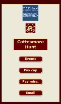 Cottesmore Hunt poster
