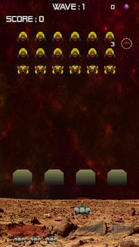 Mars Invaders - Retro space shooter screenshot 4