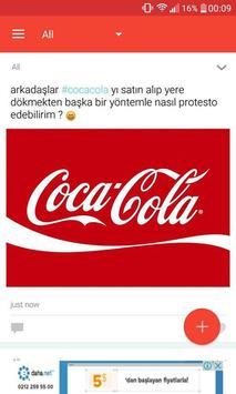 SPOOK - Anonim Sosyal Ağ apk screenshot