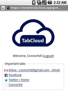 TabCloud poster