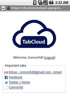 TabCloud screenshot 1