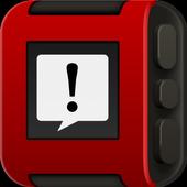 Pebble Notifications icon