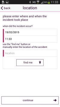 CAA. Incident Reporting App apk screenshot