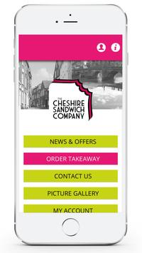 The Cheshire Sandwich Company poster