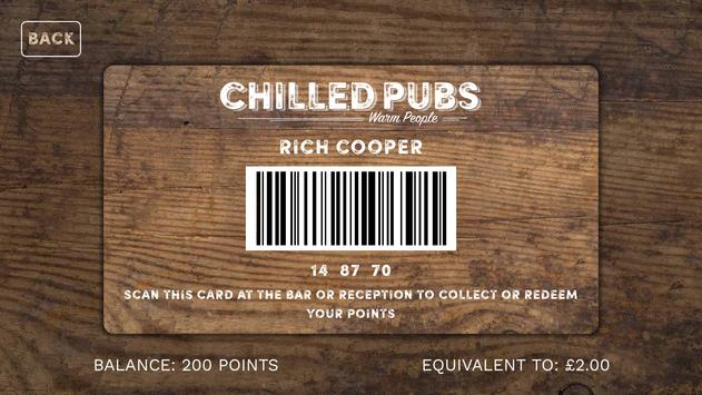 ChilledPubs screenshot 1
