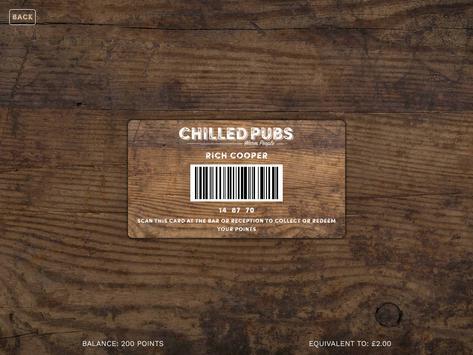 ChilledPubs apk screenshot