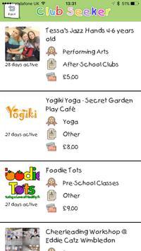 Club Hub UK - Kids Activities Directory poster