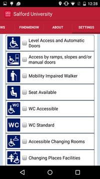 AccessAble Salford University apk screenshot