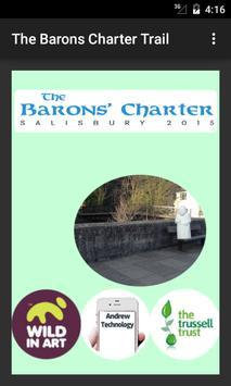 The Barons' Charter Trail poster