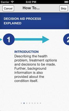 Menorrhagia - NHS Decision Aid poster