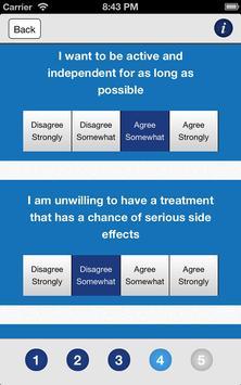 Menorrhagia - NHS Decision Aid screenshot 1