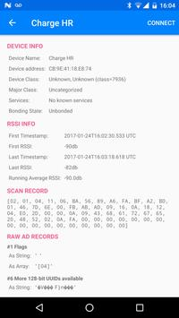 Bluetooth LE Scanner تصوير الشاشة 1