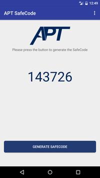 APT SafeCode apk screenshot
