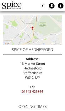 Spice of Hednesford apk screenshot