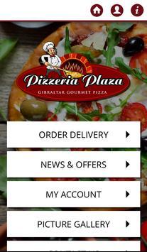 Pizzeria Plaza Gibraltar poster
