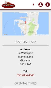 Pizzeria Plaza Gibraltar apk screenshot