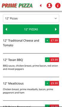 Prime Pizza apk screenshot