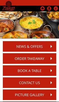 Zingaz Indian Restaurant poster