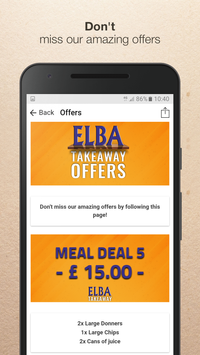 Elba Takeaway screenshot 3
