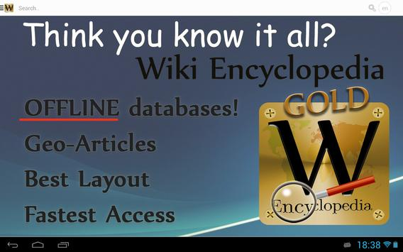 Wiki Encyclopedia Gold apk screenshot