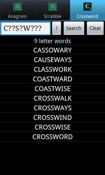 Word Solver Lite apk screenshot