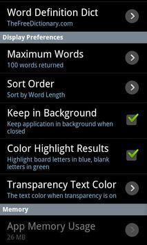 Word Solver Lite screenshot 6