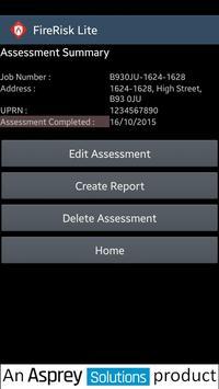 FireRisklite Trial apk screenshot