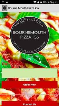 Bournemouth Pizza Co poster