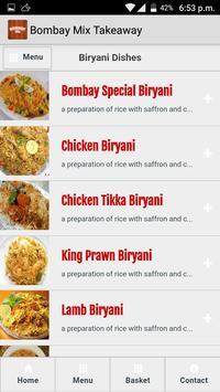 Bombay Mix Takeaway screenshot 2