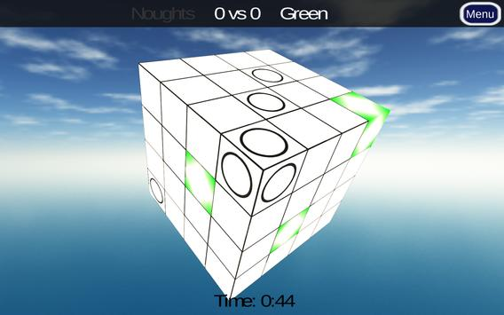 3D Noughts and Crosses Demo 포스터