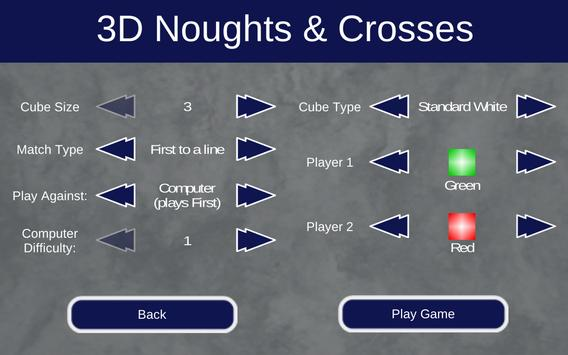 3D Noughts and Crosses Demo 스크린샷 10