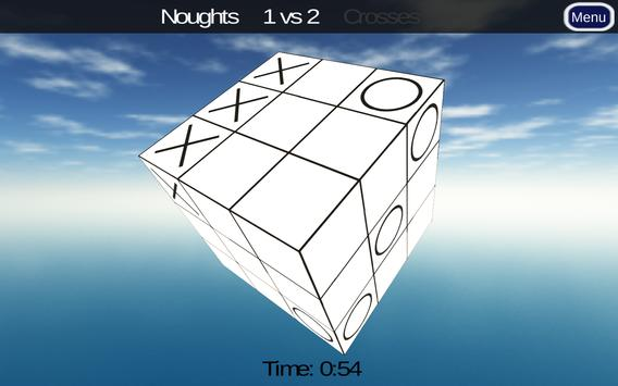 3D Noughts and Crosses Demo تصوير الشاشة 5
