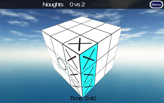 3D Noughts and Crosses Demo 스크린샷 8