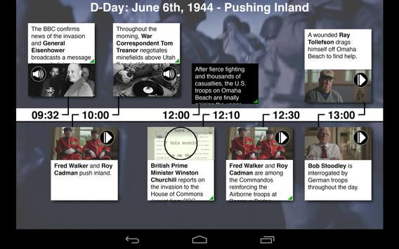 BBC D-Day's Last Heroes apk screenshot
