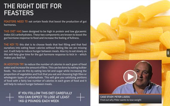 BBC The Right Diet For You apk screenshot
